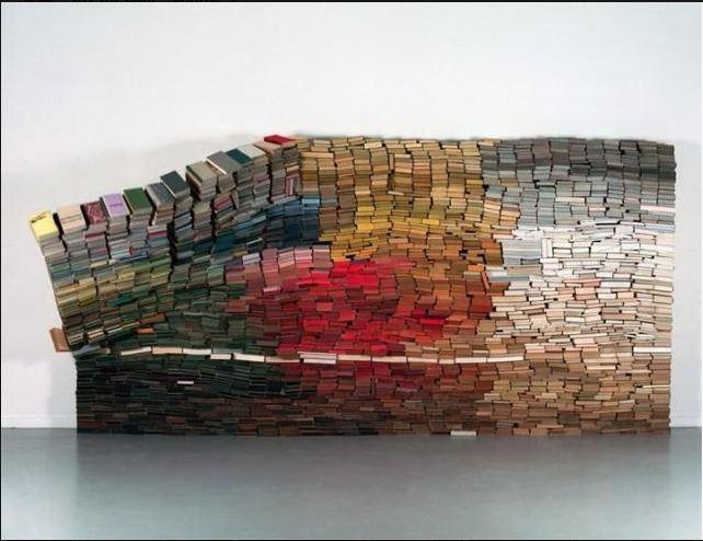Anouk Kruithof books installation