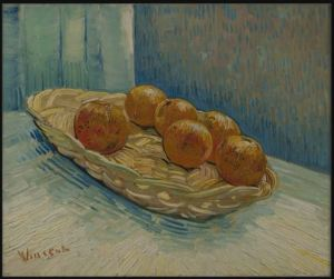 Vincent van Gogh, Basket with oranges, 1888. Oil on canvas