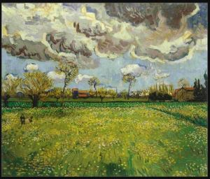Vincent van Gogh, Courtesane: after Eisen, 1887.