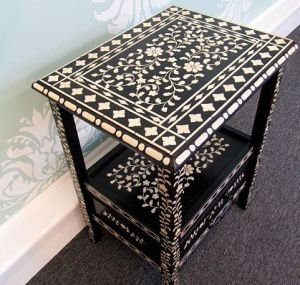 Gorgeous Stencil on a table